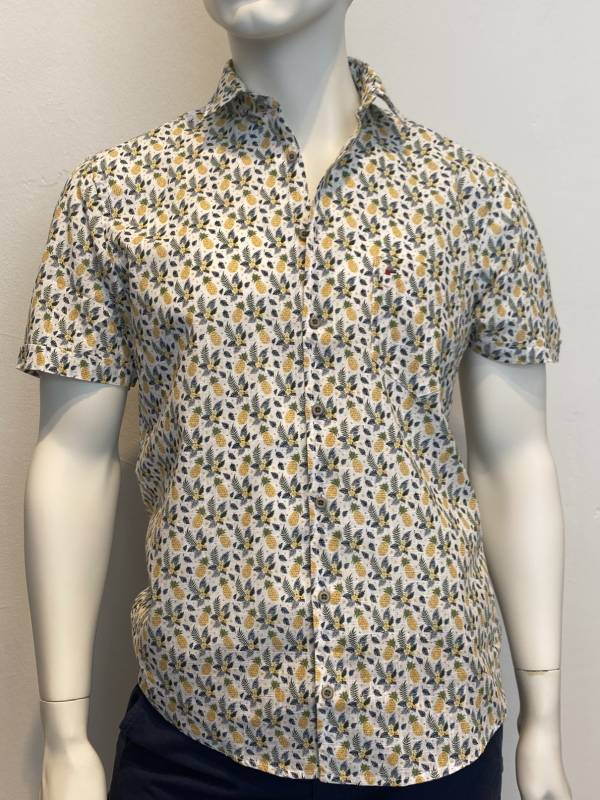 JUPITER ½ Arm Hemd Short Style